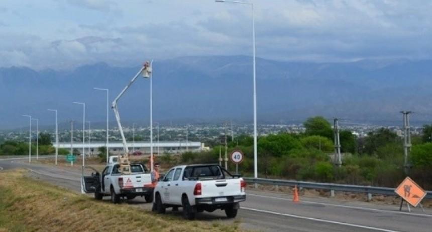Ruta 38: Corte por obras en la Av. Circunvalación