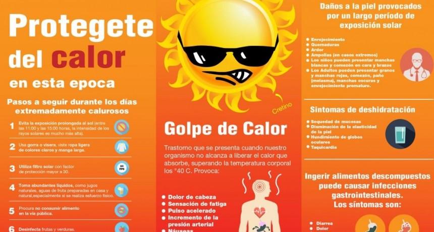 Alerta Naranja: recomendaciones para evitar un golpe de calor