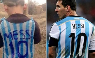 ¡Emocionante! El niño afgano conocerá a su ídolo Lionel Messi
