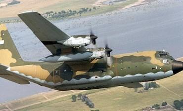 De urgencia, un avión Hércules con 35 pasajeros debió aterrizar en Río Gallegos