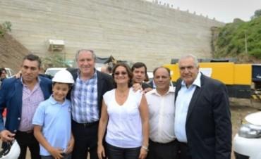 Corpacci inauguró el Dique Las Tunas