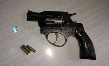 Individuo realizaba detonaciones con un arma de fuego en Belén fue detenido