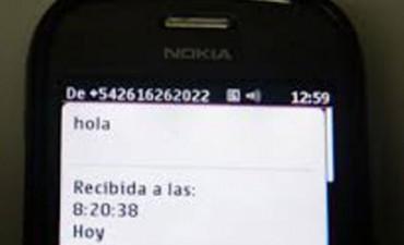 """Advertencia para quienes reciban un sms con un """"Hola"""""""