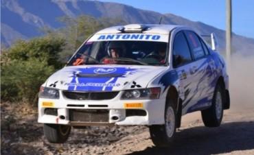 Catamarqueños en el arranque del Rally Argentino