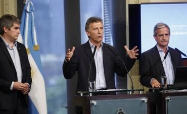 Mauricio Macri presentó un plan para