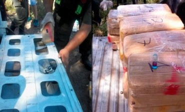 Tucumán: gendarmería detuvo a un chofer que llevaba ocultos 66 kilos de cocaína