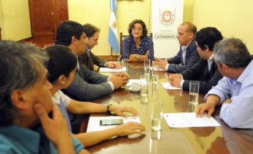 Concejales capitalinos visitaron a Lucía Corpacci