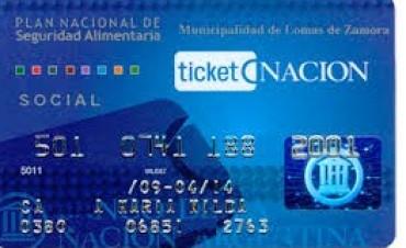 Disponibles Tarjeta Ticket Nación Escuela para retirar