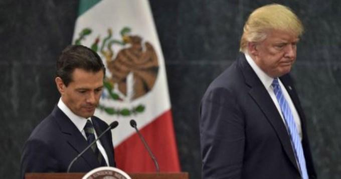 ¿Trump amenazó a Peña Nieto con mandar tropas a México?