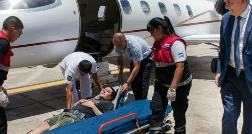 Habló el argentino accidentado que tenía que pagar US$10.000 para ser atendido en Bolivia