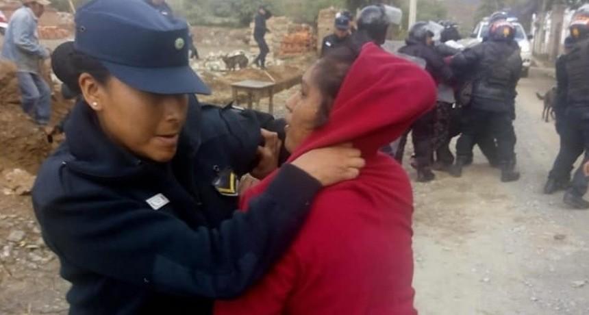Denuncian violenta represión a comunidad diaguita de Salta