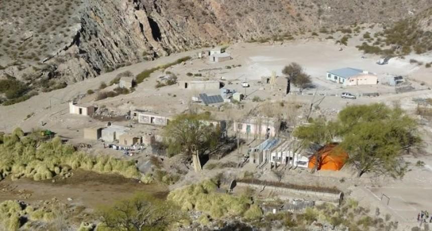 Localidad de Las Papas se encuentra aislada desde hace ocho días por la destrucción de caminos