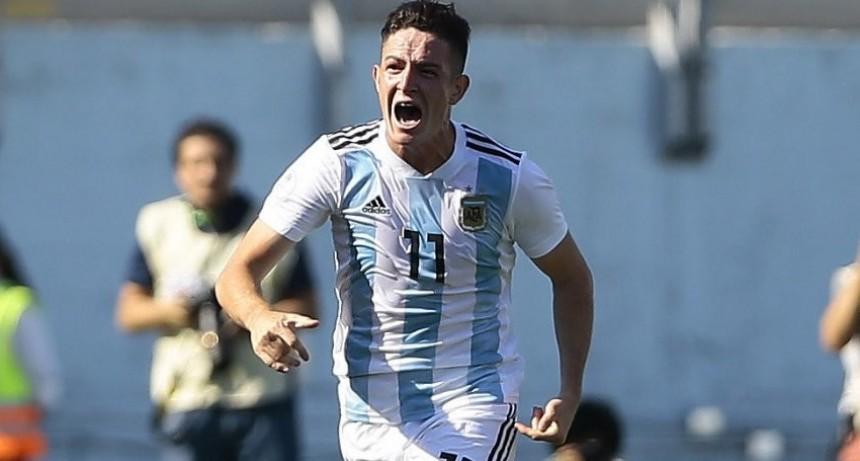 Moreno otra vez fue figura en el Sub 20 mundialista