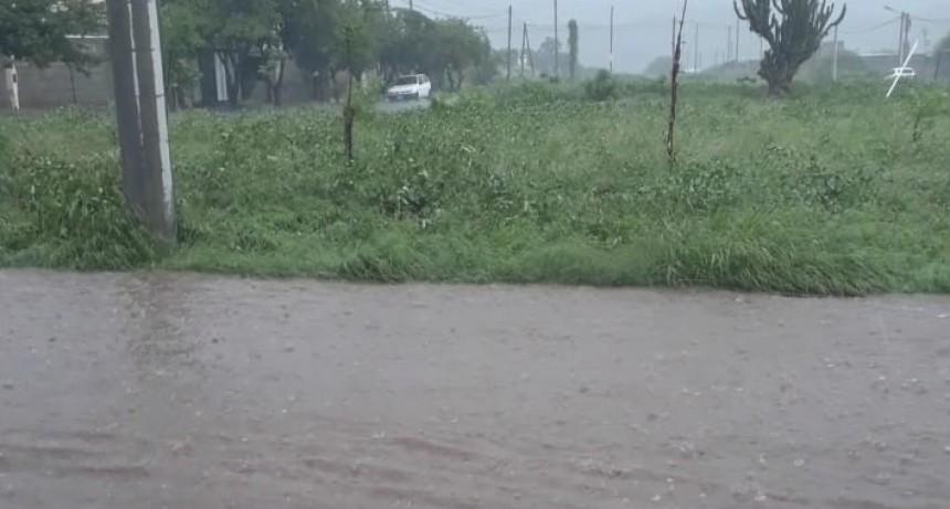 Se analiza construir desagües pluviales en la zona norte de la ciudad