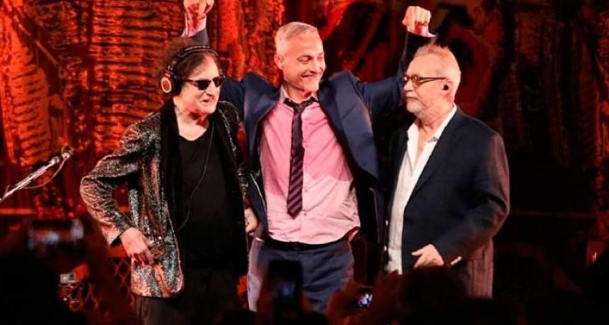 Serú Girán volvió a tocar en vivo después de casi 30 años