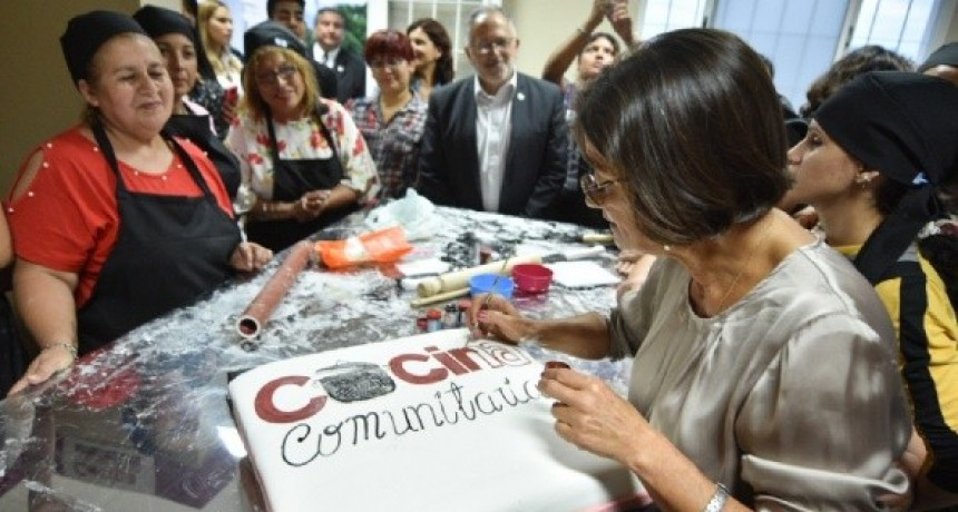 Corpacci inauguró la segunda Cocina Comunitaria para emprendedores
