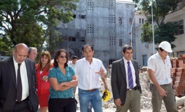 Lucía en Valle Chico y Hospital de Niños
