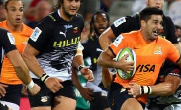 Los Jaguares perdieron ante los Sharks en Sudáfrica por el Super Rugby