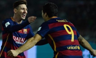 Con dos tantos de Messi, el Barcelona goleó al Eibar y se afianza como líder en España