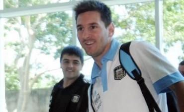 La selección argentina en Córdoba para jugar frente a Bolivia