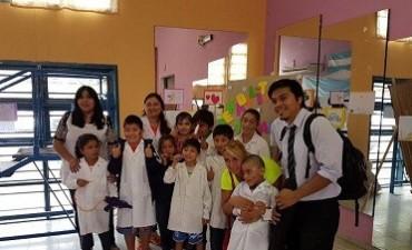 Jornada de integración Centro de Rehabilitación y alumnos de la escuela especial