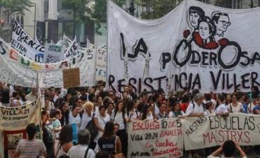 La CTA colmó la Plaza de Mayo contra los