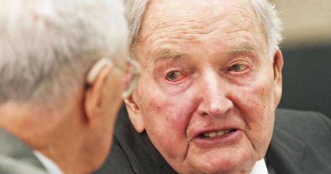 A los 101 años murió el mítico banquero David Rockefeller
