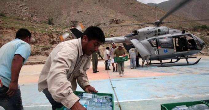 Argentina envió avión con ayuda a Perú tras la catástrofe