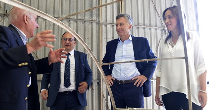 En medio del conflicto docente, Macri bancó a Vidal