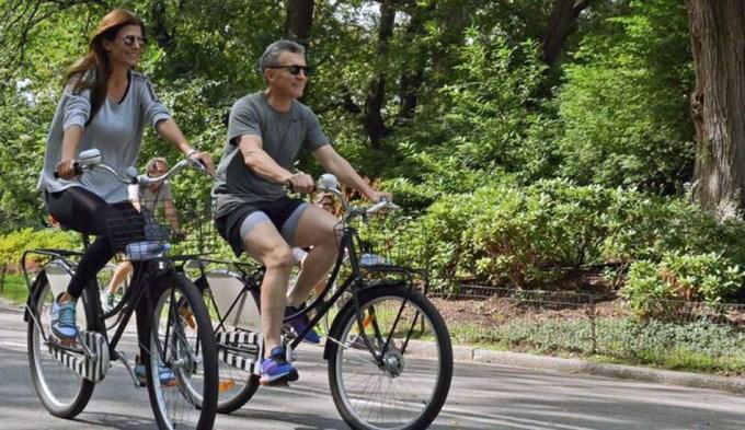 Macri pedaleó en su visita a Holanda