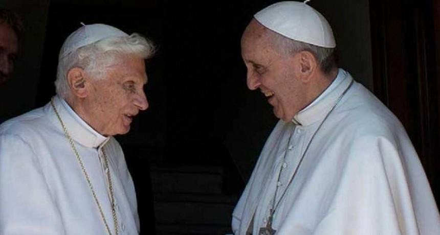Benedicto VXI apoyó el Pontificado del Papa Francisco