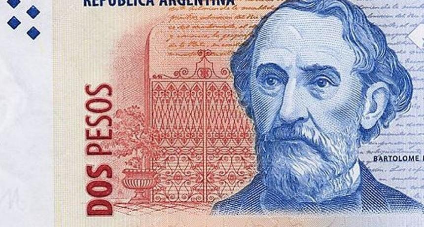 Billetes de 2 pesos  deben ser cambiados hasta el 30 de abril