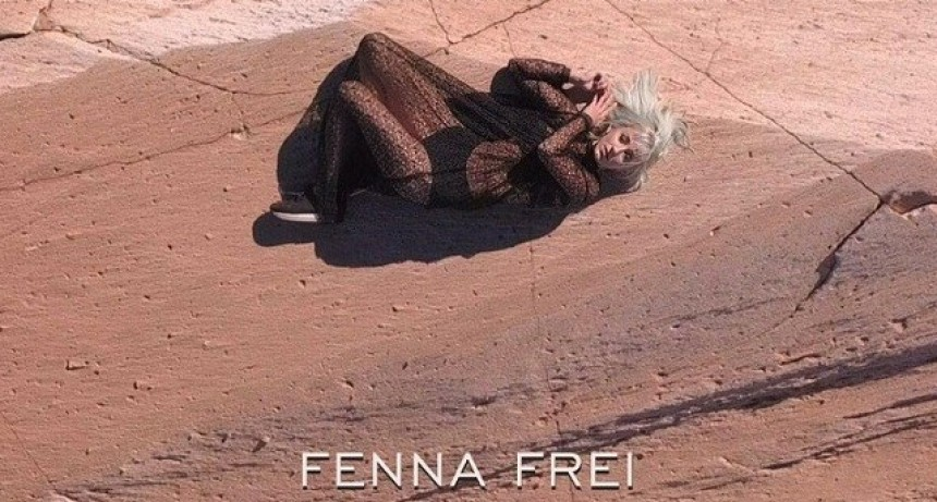 Fenna Frei grabó su videoclip en territorio catamarqueño