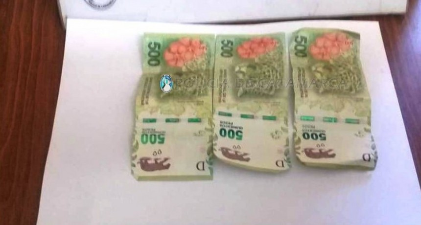 Atrapan a un ladrón que robó $1.500 de una vivienda