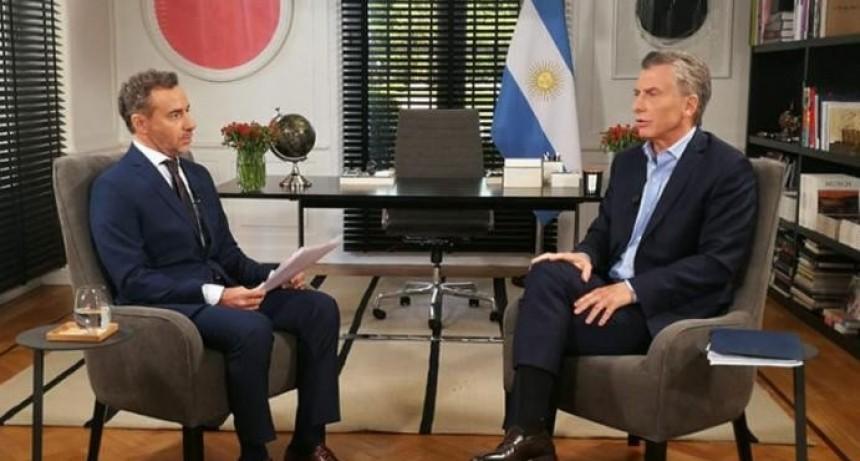 Macri disparó contra Cristina Kirchner, Marcelo Tinelli y Roberto Lavagna