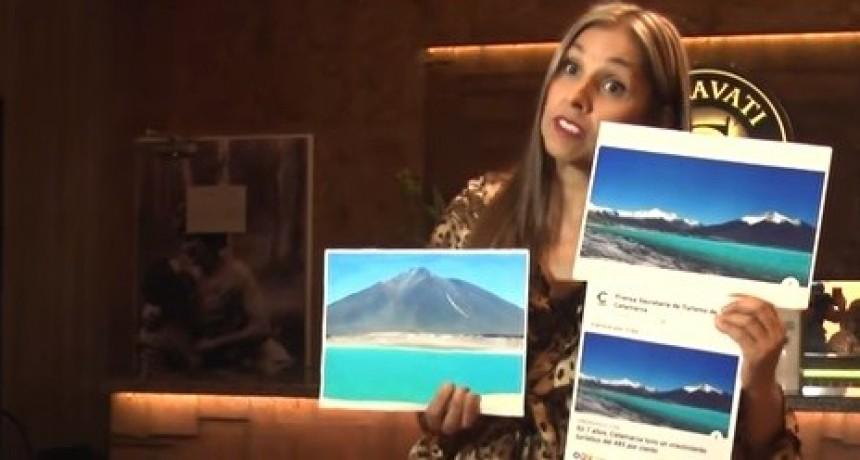 Papelón: La Secretaría de Turismo promocionó Catamarca con una foto de Chile (VIDEO)