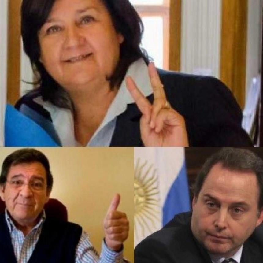 Senadores Catamarqueños que canjearon pasajes en el 2018