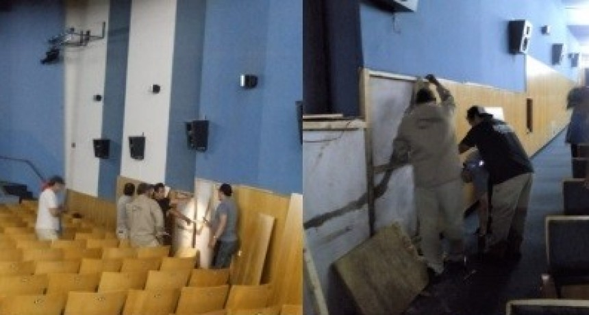 Culminaron las obras de refacción en el Cine Teatro Catamarca
