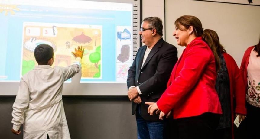 La Capital estrenó innovaciones tecnológicas para la educación