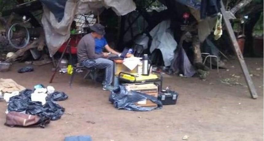 Encuentran plantación de marihuana y un arsenal de armas de fuego en fincas de Alijilán