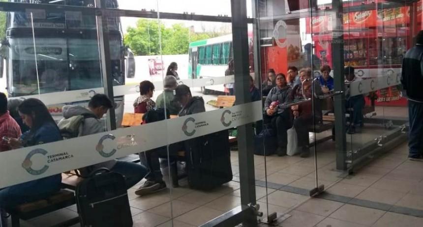 Quedaron habilitados los refugios cubiertos en la Terminal de Ómnibus