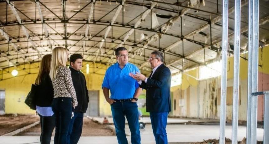 Avanza la obra del nuevo complejo educativo municipal