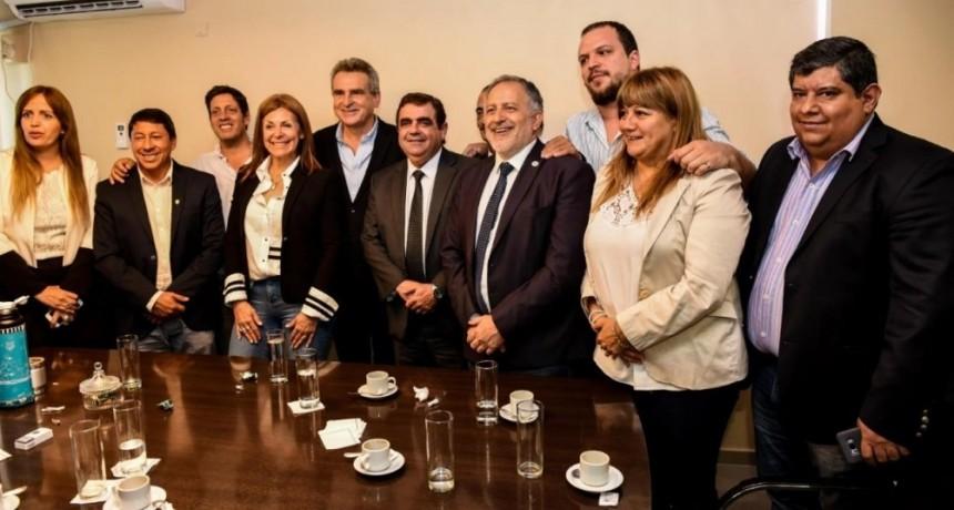 Agustín Rossi se reunió con Legisladores provinciales