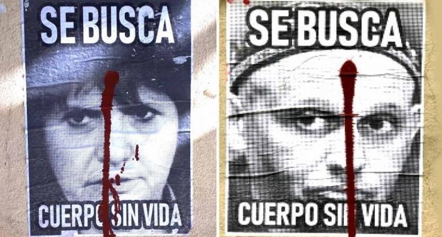Aparecieron afiches con amenazas de muerte a Patricia Bullrich y Sergio Bergman