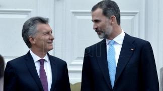 Los reyes de España visitarán la Argentina e inaugurarán con Macri el Congreso de la Lengua