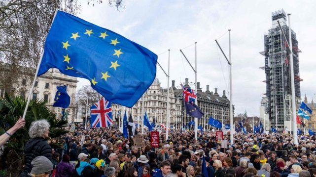 Un millón de personas en Londres para pedir frenar el Brexit