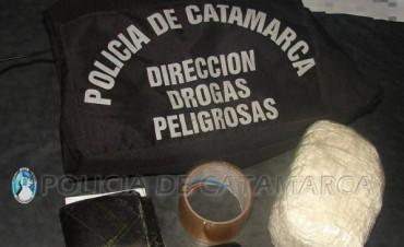 Secuestran cocaína en el sur un detenido