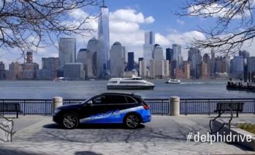 Por primera vez, un auto sin conductor atravesó todo EEUU