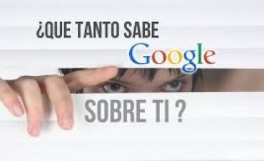 Descubre qué sabe Google sobre ti