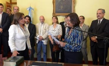Cristina Rosales asumió al frente de la Subsecretaría de Familia